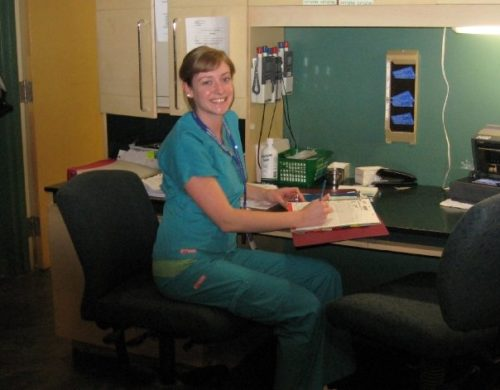 NICU Nurse Amanda Camacho