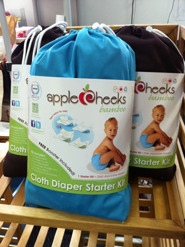 This AppleCheeks Cloth Diaper Starter Kit could be yours!