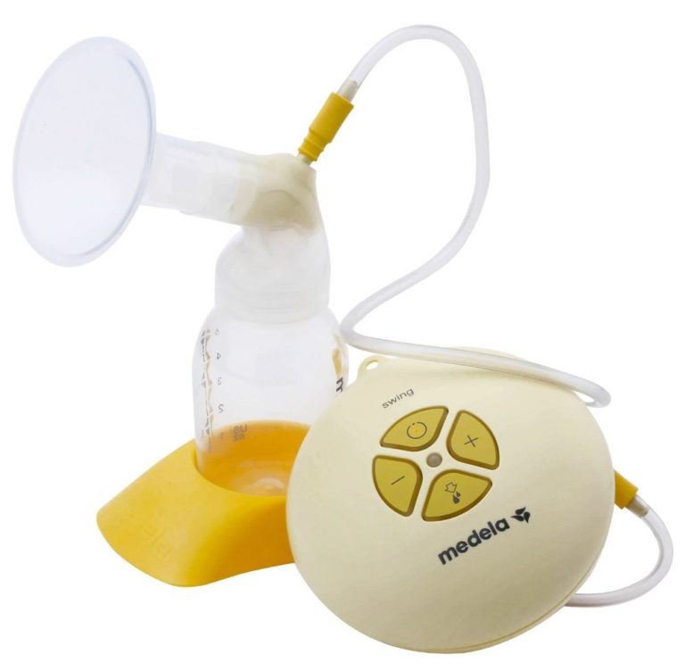 Single electric breast pumps