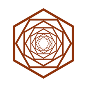 Two Doulas Hexagon Logo